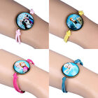 Kids Girls Xmas Gifts Frozen Elsa Anna Olaf Costume Bracelet Bangle Hand Chain