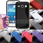 S Soft TPU Gel Silicone Case Cover For Samsung Galaxy Core Plus G3502 Trend 3