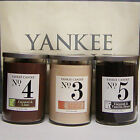 Yankee Candle No 4 COCONUT LIME or No 3 COCONUT MANDARIN 22 oz 2 Wick TUMBLERS