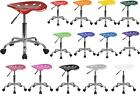 TRACTOR SEAT and Chrome Stool Adjustable Height ~ Many Colors