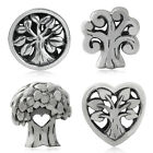 925 Sterling Silver TREE of LIFE European Charm Bead