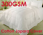 Quality 300gsm Microfibre Duvet Quilt SPRING / SUMMER - SINGLE DOUBLE QUEEN KING