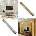 10M Luxury Embossed Patten Textured Wallpaper Rolls Home Decor Gold Silve U Pick
