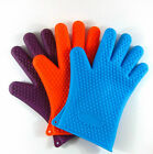 Hot 1Pc Kitchen Heat Resistant Glove Oven Pot Holder Baking BBQ Cooking Mitts