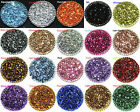 1000pcs Crystal Flat Back Acrylic Rhinestones Gems 20 colors Wholesale Lots