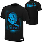 R-Truth Do You Believe Tell the Truth WWE Authentic Black T-shirt