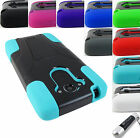 FOR MOTOROLA DROID TURBO RUGGED SHOCK PROOF T-STAND HYBRID CASE COVER+STYLUS