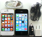 Apple iPhone 4 Verizon Sprint AT&T 8gb 16gb 32gb 64gb Smart Phone Black White