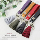 The Basic Leather Strap Tassel Key Holder Ring Camera Bag Pouch Fashion Style