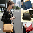 Women Classic Crown PU Leather Handbag Tote Satchel Shoulder Messenger Hobo Bags