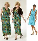 Butterick 5764 Sewing Pattern to MAKE Easy Plus Size Mock Wrap Dress & Shrug