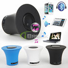 Mini Portable Wireless Bluetooth Handsfree Speaker Mic for iPhone Samsung Tablet