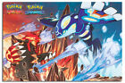 Pokemon Groudon And Kyogre Childrens Large Poster New - Maxi Size 36 x 24 Inch