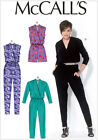 McCall's 7099 Sewing Pattern to MAKE Loose-Fitting Stretch Rompers & Jumpsuits