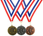 50mm Running/Athletics Medal-Antique Gold, Silver or Bronze-FREE ENGRAVING