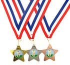 45mm Metal Croquet Star Medal-Gold, Silver or Bronze-FREE POSTAGE-FREE ENGRAVING