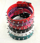 6 Color Spiked Studs PU Leather Pet Dog Puppy Collars XS S M L for Small Dog