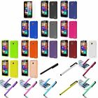 Ultra Slim Snap-On Hard Cover Case For Nokia Lumia 635 T-Mobile+Pen+Screen Film