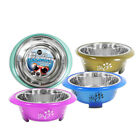 Fusion Steel & Plastic Dog Bowl 21cm/1.7L Super Tuff Extra Grip by World of Pets