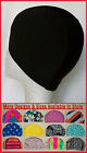 1x Adults or Kids BLACK LYCRA SWIMMING CAP - Swim Hat  ADULT CHILD INFANT New