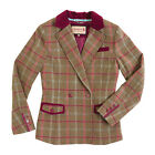 Tayberry Rhea  Country Style Tweed Blazer 10-18