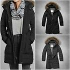 "ABERCROMBIE&FITCH WOMEN`S Puffer Parka Jacket ""Mandy"" SIZES: XS, S, M, L"