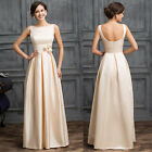 Vintage LONG Mother Of the Bride Dress Formal Gowns Evening Party/ Prom dresses