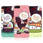 HEAD CASE DESIGNS SUSHI TIME HARD BACK CASE FOR APPLE iPHONE 5S