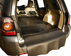 3pc boot liner load mat bumper protector Land Rover Freelander 2 natural rubber