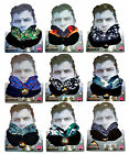 Mens Snood Scarf Multifunctional Neck Warmer Bandana Hat Winter Warm New