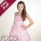 Girls Pink Prom Dresses, Bridesmaid Dresses, Flower Girl Dresses, Girls Dresses