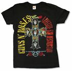 """GUNS N ROSES """"MAY 11 1991 EVENT"""" BLACK SLIM FIT T-SHIRT NEW OFFICIAL ADULT GNR"""