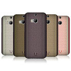 HEAD CASE DESIGNS SCARF INSPIRED HARD BACK CASE FOR HTC ONE M8