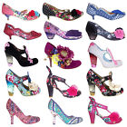 Irregular Choice Womens Vintage Retro 50s Style Unique Iconic Heels Shoes
