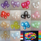 Latex Helium Thickening Pearl Wedding Party Birthday Balloon Decorations 10""
