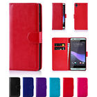 32nd PU Leather Book Wallet Flip Card Slot Case Cover for HTC Phones