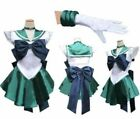 Sailor Moon Neptune Kaiou Uniform Costume Cosplay Dress Anime Manga @@@77