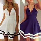 Sexy New Women Summer Casual Sleeveless Party Evening Cocktail Short Mini Dress
