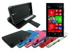Leather Wallet Case Stand with Soft TPU for Nokia Lumia 928