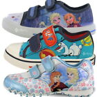 Boys Girls Disney Frozen Canvas Trainers Boots Sizes 7-12 Gift Elsa Anna Olaf
