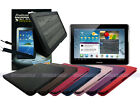 Leather Case+Screen Cleaner Pad+Stylus for Samsung Galaxy Tab 2 10.1