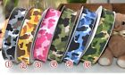 """5YDS 3/8""""5/8"""" camouflage color pattern  grosgrain decorate ribbon freeshipping H"""