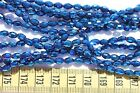 4x6mm Oval Faceted Glass Beads 7 Colors to Choose From avg. 70 beads per strand