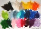 """Quality 3-8"""" L Fluffy Marabou Feathers in 30 colors 7 grams 1/4 oz Approx 35"""