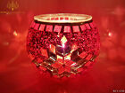 Top Quality Colourful Handmade Glass Candle Holder Mosaic Turkish Moroccan Style