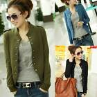 Clearance !Fashion Women Double Breasted Casual Jacket Long Sleeves Coat TOPS