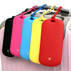 Steam Air Tag Travel Name Tag Carrier Bag Luggage ID Strap Cute Color Design