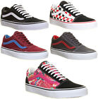 Vans Old Skool Womens Suede Leather Lace Up Trainers