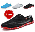 New Summer Men's Casual Breathable Slip Ons Loafers Sandals Shoes Flip Flops