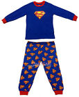 Superman Children Kids Boys Nightwear Outfit Top + Trouser Sleepwear Pajama 2-7Y